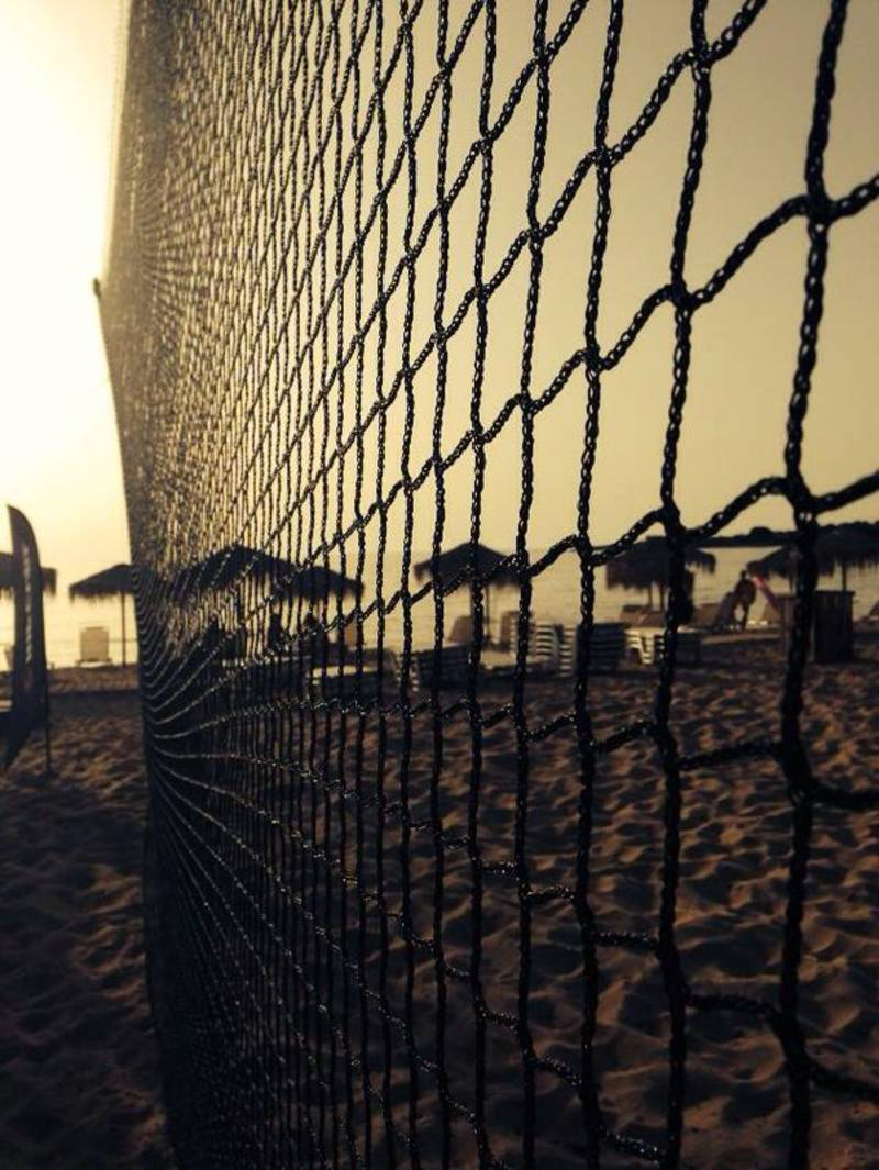 nets for field separation and outdoor activities