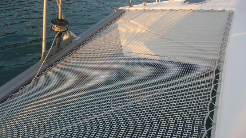 trampoline nets for catamarans