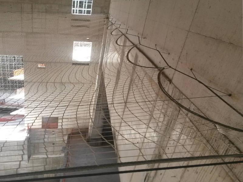 δίχτυα ασφαλείας σε κατασκευαστικά έργα