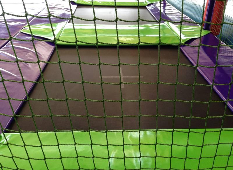 δίχτυα προστασίας για τραμπολίνο